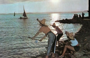 Horgászok és halászok régi képeslapokon